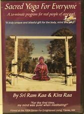 Sacred Yoga For Everyone DVD Sri Ram Kaa spiritual sitting chair meditation
