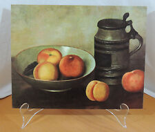 PEACHES by Henkbos Mid Century Modern DAC Lithograph on Cardboard
