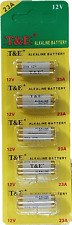 5 x 12V Batterie 23A z.B. für Fernbedienung , Funkklingel 12 Volt