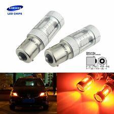 2x PY21W BAU15s Ampoule LED Orange  15W LED Clignotant Voyant Ambre Lampe