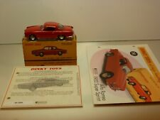 DINKY TOYS ATLAS 24J ALFA ROMEO 1900 SUPER SPRINT - RED 1:43 - EXCELLENT IN BOX