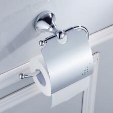 Papier toilette Porte-rouleau Laiton Avec couvercle Imperméable Salle de