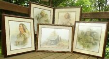 MARKED DOWN Collection of 5 Ben Hampton prints-1 NancyWard proof. OR BEST OFFER.