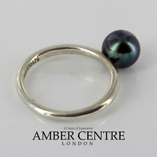 Trollbeads Genuine Black Pearl Ring R5108