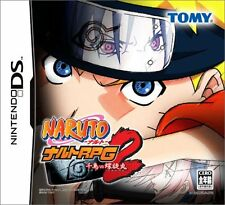 Used Nintendo DS Naruto RPG2: Chidori vs Rasengan Japan Import (Free Shipping)