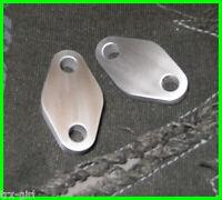 Kawasaki ZXR400 H & L oil cooler blanking plates plugs *NEW*