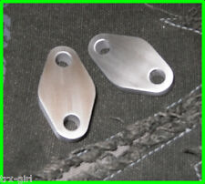 Kawasaki ZXR400 H & L oil cooler blanking plates plugs *NEW*
