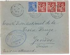 1941 France Concentration Internment Camp de Gurs prisoner Cover H Strafsburger