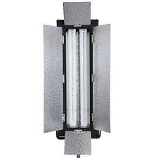 Tageslicht-Studioleuchte, Foto-Lampe Dauerlicht Striplight 110W mit 2 Stufen