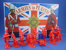 ARMIES IN PLASTIC 5448 British Infantry Scots Guard Zulu 20 Figures FREE SHIP