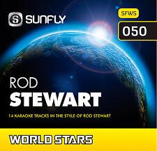 ROD STEWART SUNFLY KARAOKE CD+G