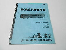 VINTAGE CATALOG #2284 - 1958 WALTERS HO MODEL TRAINS