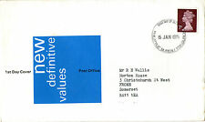 15 JANUARY 1975 7p DEFINITIVE VALUE POST OFFICE FIRST DAY COVER BUREAU FDI