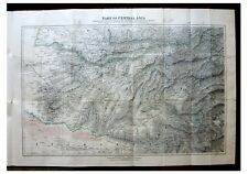 1884 Morgan - CENTRAL ASIA - With Large Colour Map - Original Wrappers