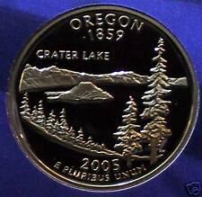 2005-S  Oregon Proof State Quarter - Ultra Deep Cameo!