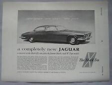 1961 Jaguar MkX Original advert