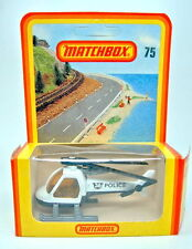 "Matchbox SF Nr.75D Helicopter ""Police"" top im Blister"