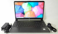 "HP Notebook 15-dy1051wm 15.6"" HD Core i5-1035G1 1.0GHz 8GB 256GB SSD W10H Laptop"