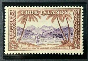 COOK ISLAND Sc#131 1949 Definities Mint NH OG VF (19-11)