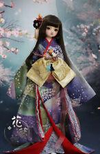 Kimono Japanese outfit dress set for 1/3 bjd dollfie (Luts SD13 Soom FL AS )