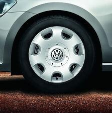 VW Satz Radzierblenden Radzierkappen 1T0071456 silber 16 Zoll