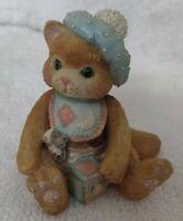 Enesco CALICO KITTENS 1992 Figurine A Bundle of Love #628433 Priscilla Hillman