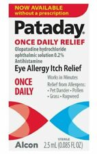 Pataday Once Daily Eye Allergy Itch Relief Eye Drops, 2.5 ml exp 11/2021