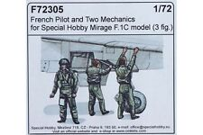 CMK F72305 1/72 French pilot and two mechanics for Special Hobby Mirage F.1C