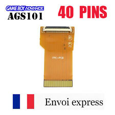 Nappe 40 PINS NEUF Game Boy Advance AGS 101 mod GBA SP adapter rétro-éclairé