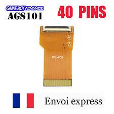 Nappe 40 PINS NEUF Game Boy Advance AGS 101 mod GBA SP adapter rétro-éclairé