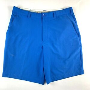 """Cutter & Buck DryTec Blue Golf Shorts (Tag Size W34) Actual Size Men's W36"""""""