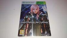 Final Fantasy XIII (13) : Steelbook Vide/Empty G1 : [Collector - Xbox360 - NEW]