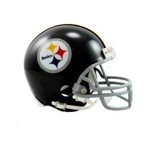 Pittsburgh Steelers 1963-76 63-76 VSR4 Throwback Riddell Football Mini Helmet