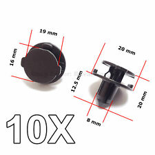 10X Bumper Air Duct, Bumper Shield Protector clips for Nissan