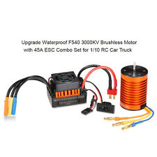 F540 3000kv waterproof brushless Motor with 45A ESC combination Set