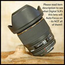 SUPERB Fast Aperture F1.8 Nikon AF Digital fit Sigma 28mm Lens EX DG Macro
