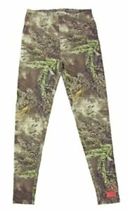 NWT Realtree Girl Zoey Leggings Skinny Max-1 Camo Camouflage, Brown Size M & XL