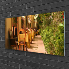 Print on Glass Wall art 100x50 Picture Image Restaurant Architecture