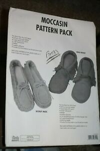 CRAFTOOL - TANDY LEATHER MOCCASIN PATTERN PACK