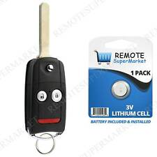 Replacement for Acura 2007-2013 MDX RDX Remote Car Flip Key Fob Keyless Entry