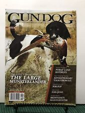 Gun Dog See Pics Large Munsterlander Public Land August 2013 Free Shipping Jb