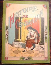 RARE HISTOIRE DE CENDRION,  illustrée par  Frédéric Zickwolff, Gordinne et Fils