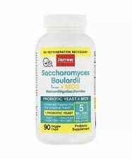 Jarrow Formulas, Saccharomyces Boulardii + MOS, 5 Billion, 90 Veggie Caps