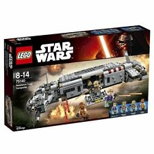 LEGO Star Wars - Resistance Troop transport,(75140) + 75141 Kanan's Speeder Bike