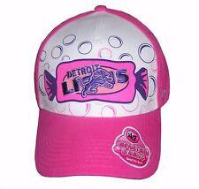 "Nfl Womens Apparel - Detroit Lions ""47 Brand"" Nfl Bubble Yum Bling cap,Hat, NWT"