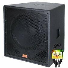 "New Emb Professional Ebp15Sub Bass Gig 15"" 1500 Watt Active Powered Pa Subwoofer"