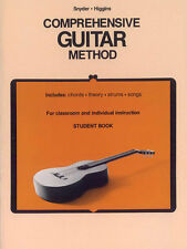 Comprehensive Guitar Method (Student Book)For Classroom & Individual Instruction
