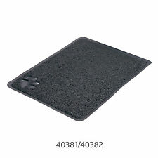 Trixie Cat Litter Tray Mat PVC Anthracite Rectangle / 40x60cm TX40382