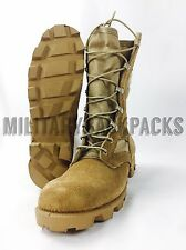 New Mcrae Military Warm Weather Combat Boots Hunting Size 4 Mens Women's