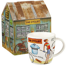 At Your Leisure Squash Mug The Cyclist 400ml in Gift Box